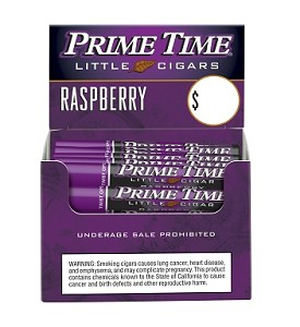Prime Time Little Cigars Raspberry 50Ct Box