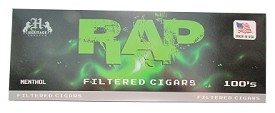 Rap Filtered Cigars Menthol