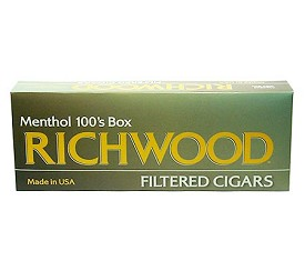 Richwood Filtered Cigars Menthol