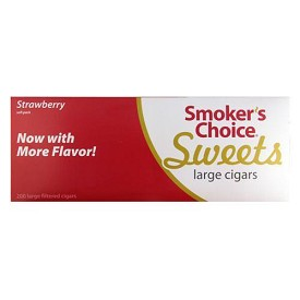 Smokers Choice Filtered Cigars Strawberry