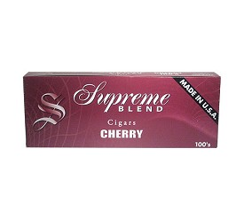 Supreme Blend Filtered Cigars Cherry Soft