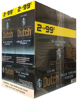 Dutch Masters Cigarillos Foil Blue Dream Fusion Pre-Priced