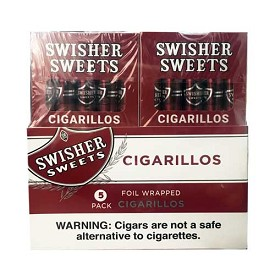 Swisher Sweets Cigarillos Regular  5 Pack (5FOR3)