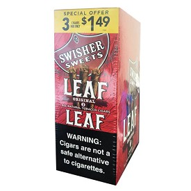 Swisher Sweets LEAF Cigars - Original Pre-Priced